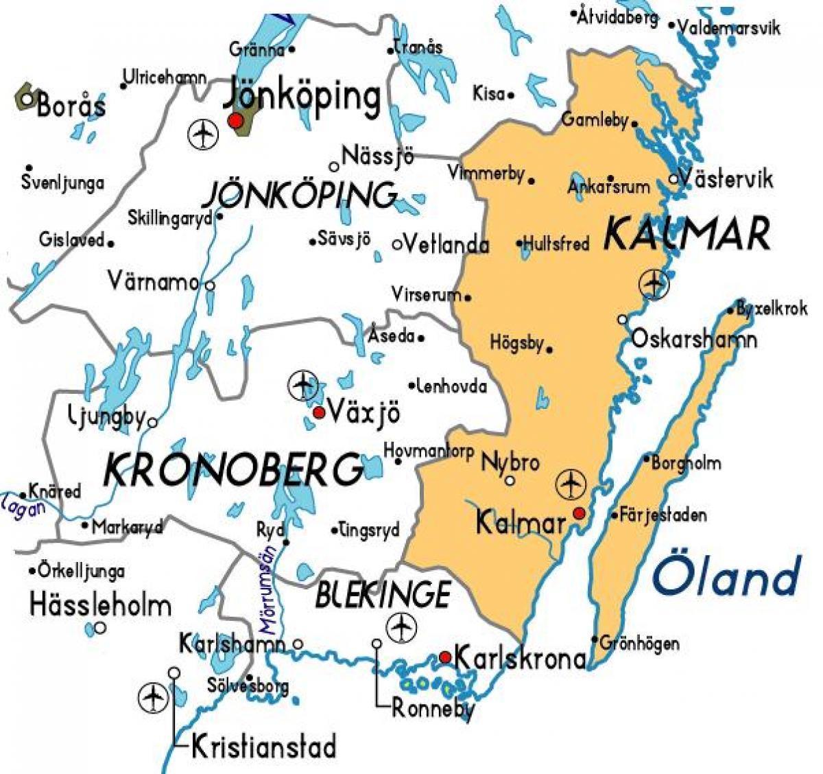 kalmar sverige kart Kalmar kart Sverige   Kalmar, Sverige kart (Nord Europa   Europa) kalmar sverige kart