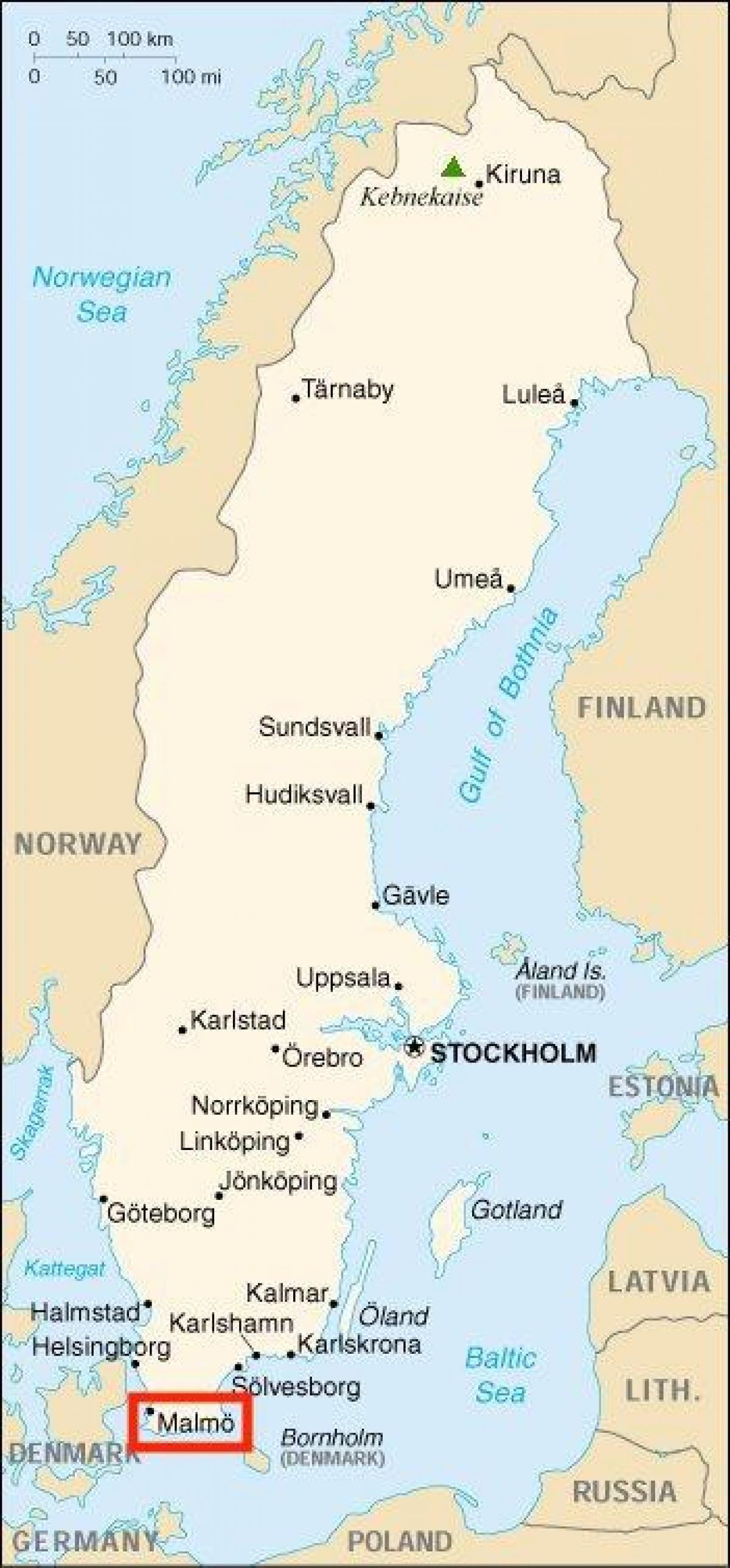 kart over malmø Malmö, Sverige kart   Sverige malmö kart (Nord Europa   Europa) kart over malmø