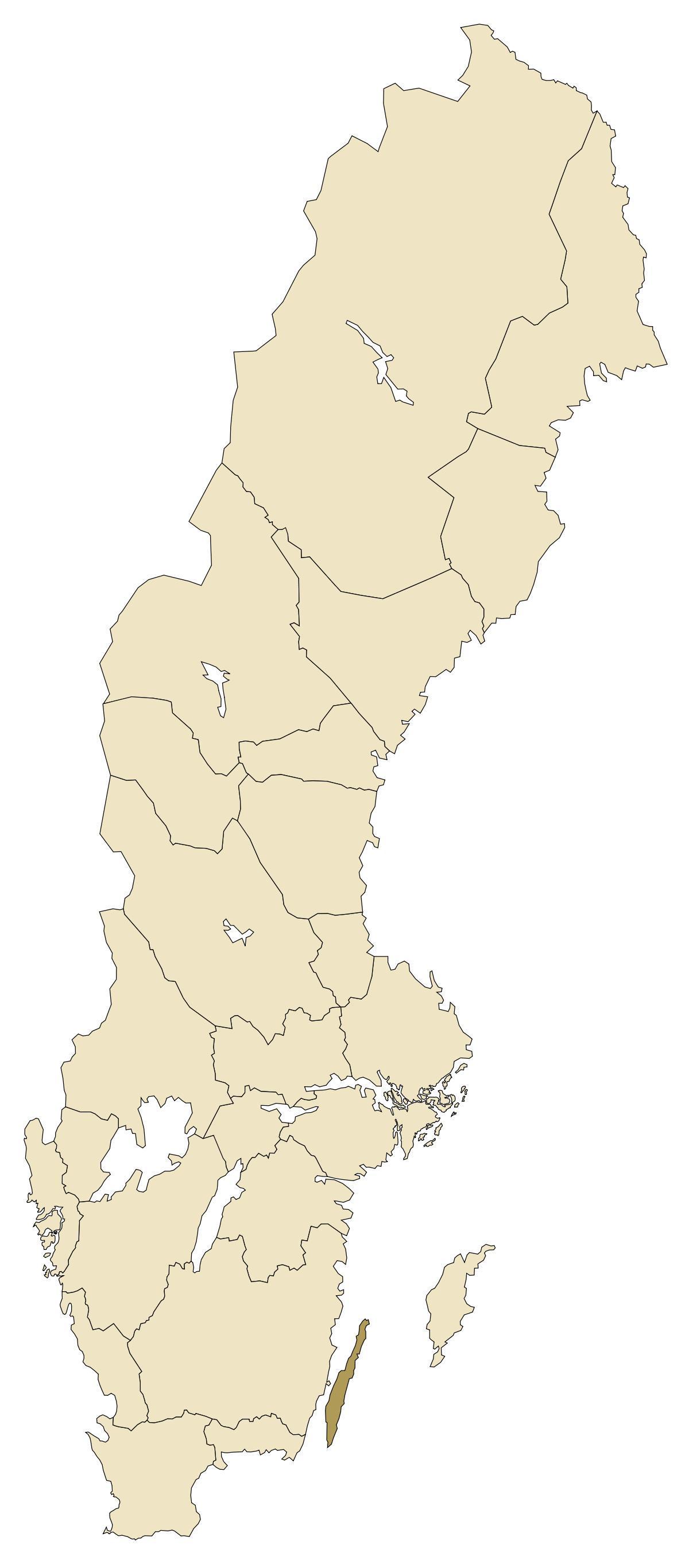 kart over øland sverige Oland Sverige kart   Kart over Oland Sverige (Nord Europa   Europa) kart over øland sverige