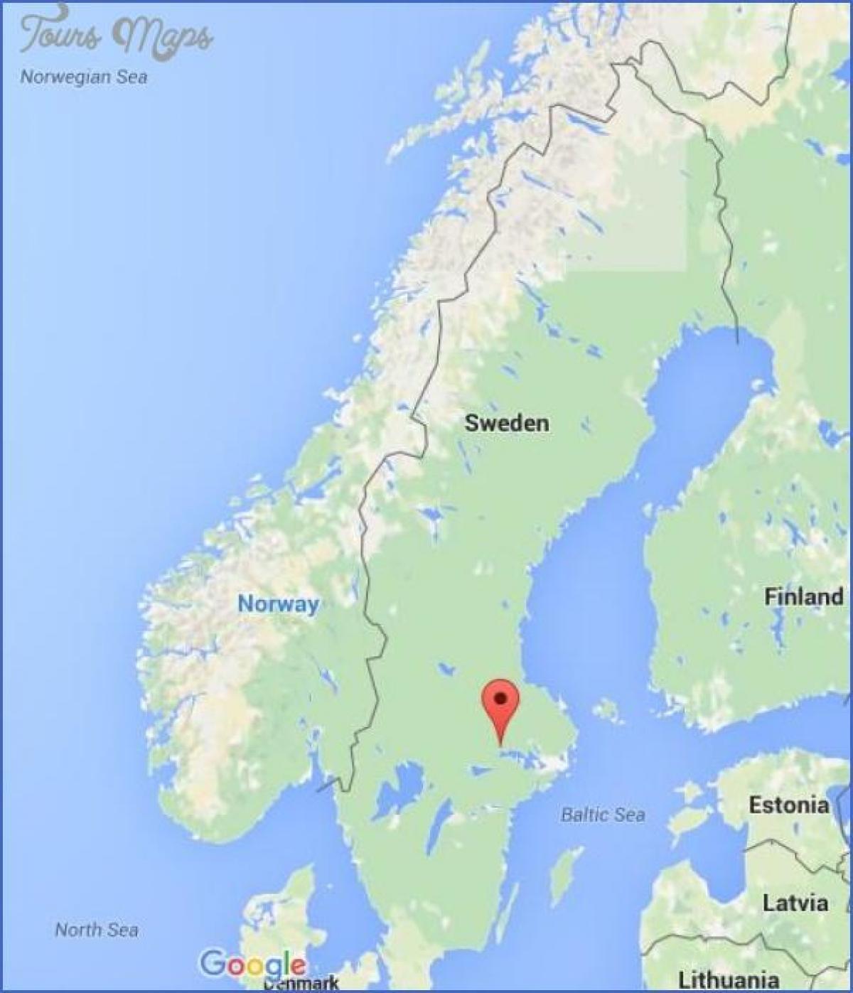 vesterås sverige kart Västerås Sverige kart   Kart over Västerås i Sverige (Nord Europa  vesterås sverige kart